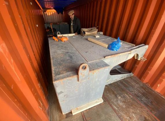 Al Bader shipping completes container transport to Singapore.