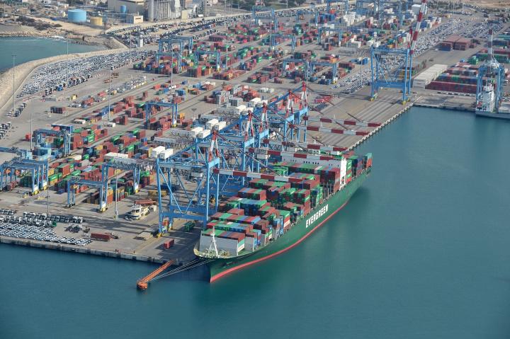 Ashdod Port.