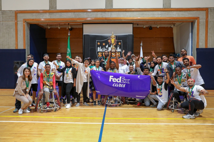 As part of this program, SAB Express, the global service provider of FedEx Express in Saudi Arabia, joined hands with Swish Community Service to promote the social inclusion of young adults with special needs in the Saudi society.