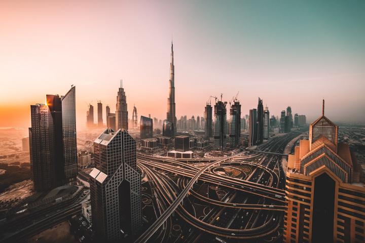 Dubai panorama.