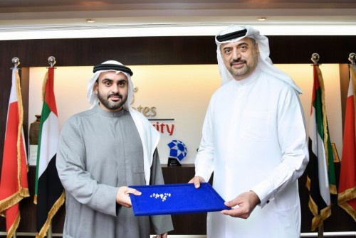 Transguard has signed an agreement with TRIGEM DMCC to transport diamonds. The agreement was signed by (left) Shaikh Ahmed Bin Manna Bin Khalifa Saeed Al-Maktoum, Partner at TRIGEM DMCC, and Dr. Abdulla Al-Hashimi, Divisional Senior Vice President Emirates Group Security and CEO Transguard Group