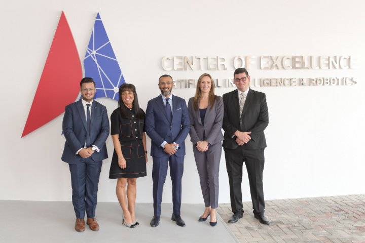 GEMS Dubai American Academy launches the Center of Excellence for Artificial Intelligence and Robotics.