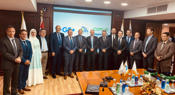 New Joint-Venture between Corys Investments, George Fisher (GF) and Egypt Gas named Egypt Gas GF Corys Piping Systems (S.A.E)