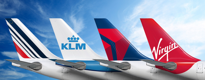 Air france klm, Air france, KLM, Virgin atlantic, Delta, Cargo, Agreement