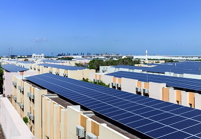 The installed solar plant is part of the second phase of projects under the 22-year solar lease agreement for Jafza and National Industries Park (NIP) signed in Q4 2018.