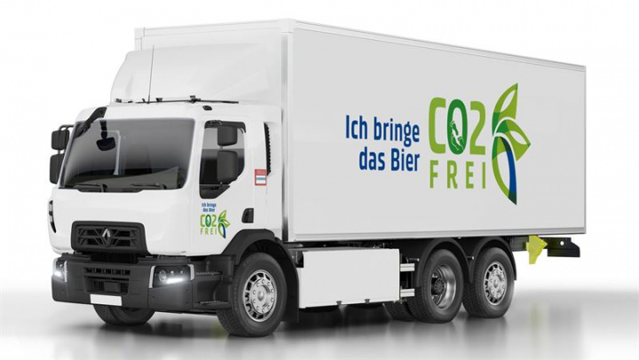 Renault electric truck