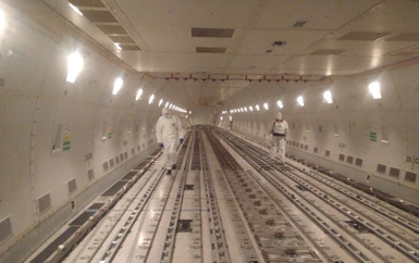 Volga-Dnepr Group is operating sterilised flights to China.