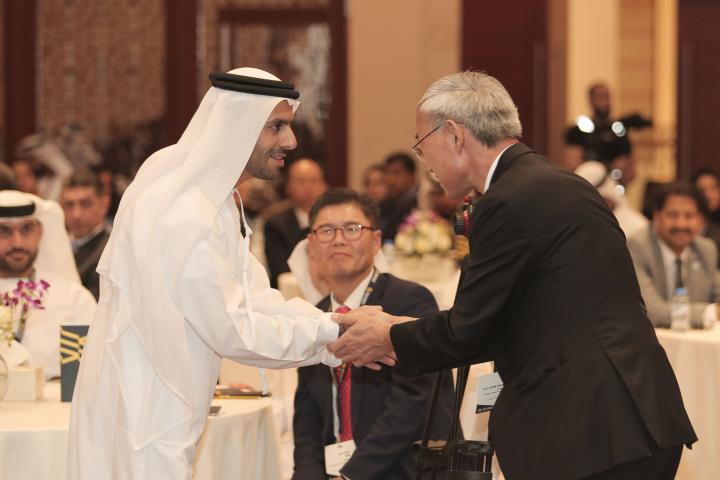 HE Marwan bin Jassim Al Sarkal at the Sharjah – Korea Business Roundtable