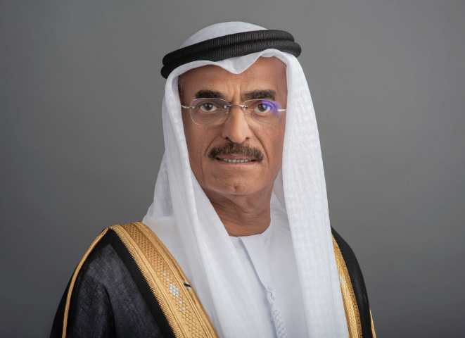 H.E. Dr. Abdullah Belhaif Al Nuaimi, the UAE Minister of Infrastructure Development and Chairman of the Federal Transport Authority (FTA) for Land and Maritime.