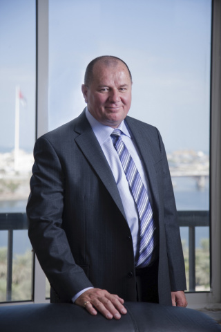 Peter Richards, group CEO, Gulftainer