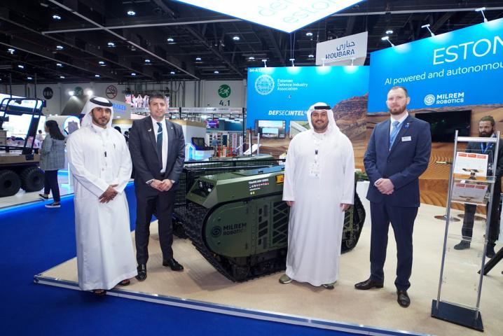 SABER Investment Company L.L.C and Milrem Robotics  collaborate.