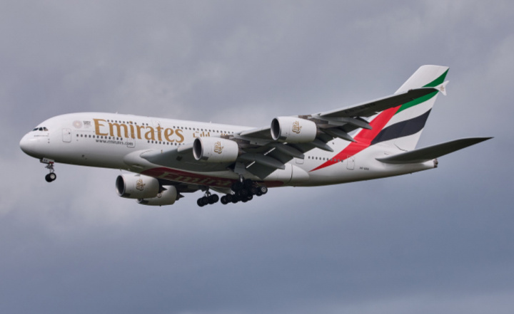 Emirates A380, Airbus A380, GCAA