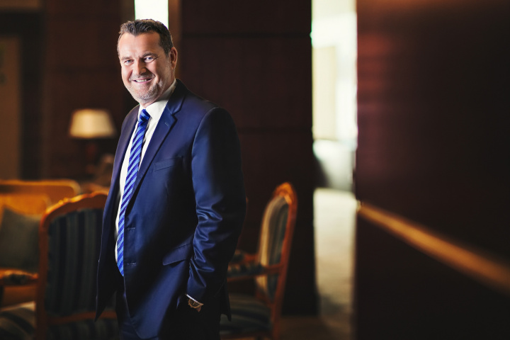 Geoff Walsh, UAE Country Manager at DHL Express